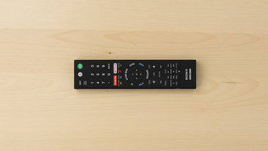Sony X930E Remote Picture