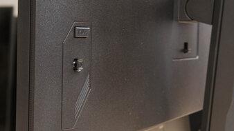 Gigabyte M32U Controls Picture