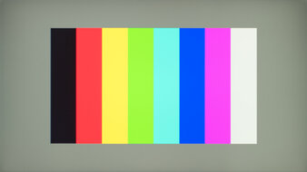 AOC 24G2 Color Bleed Vertical