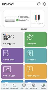 HP DeskJet 2722 App Printscreen