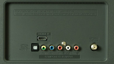 LG LB5900 Rear Inputs