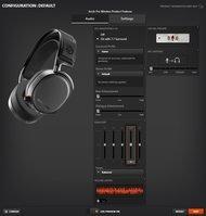 SteelSeries Arctis Pro Wireless App Picture