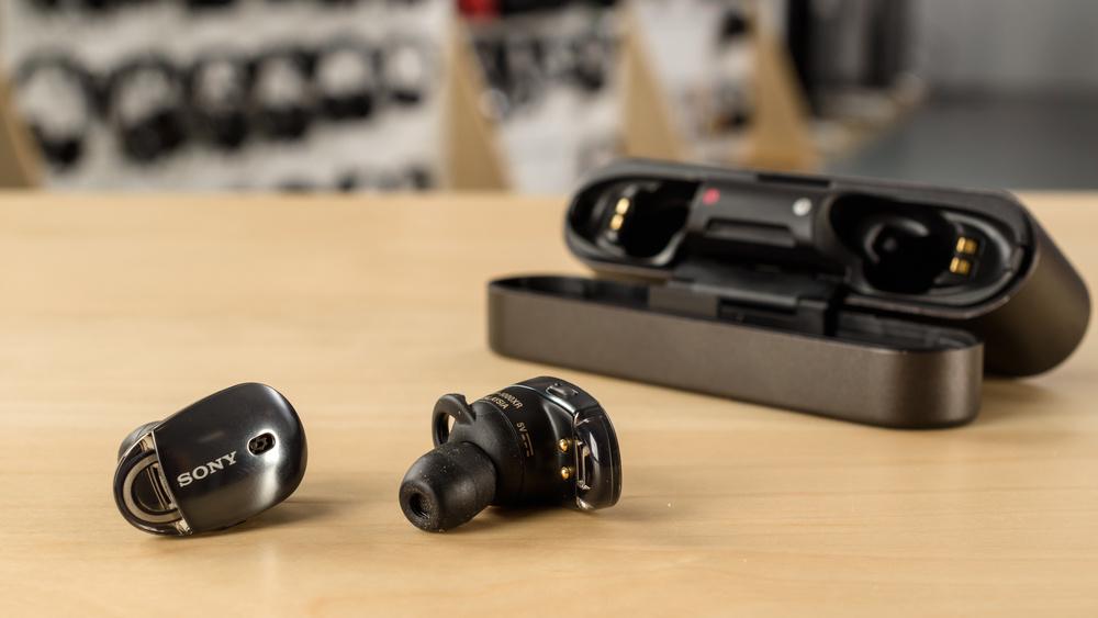 Sony WF-1000X Truly Wireless Picture