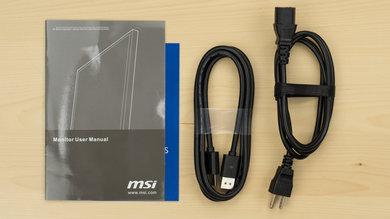 MSI Optix G27C In The Box picture