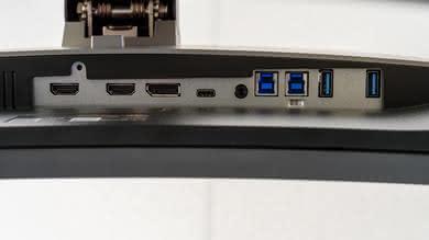 Dell U3818DW Inputs 1