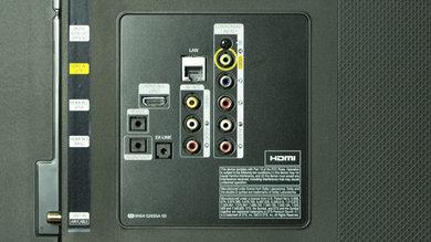 Samsung HU8550 Rear Inputs