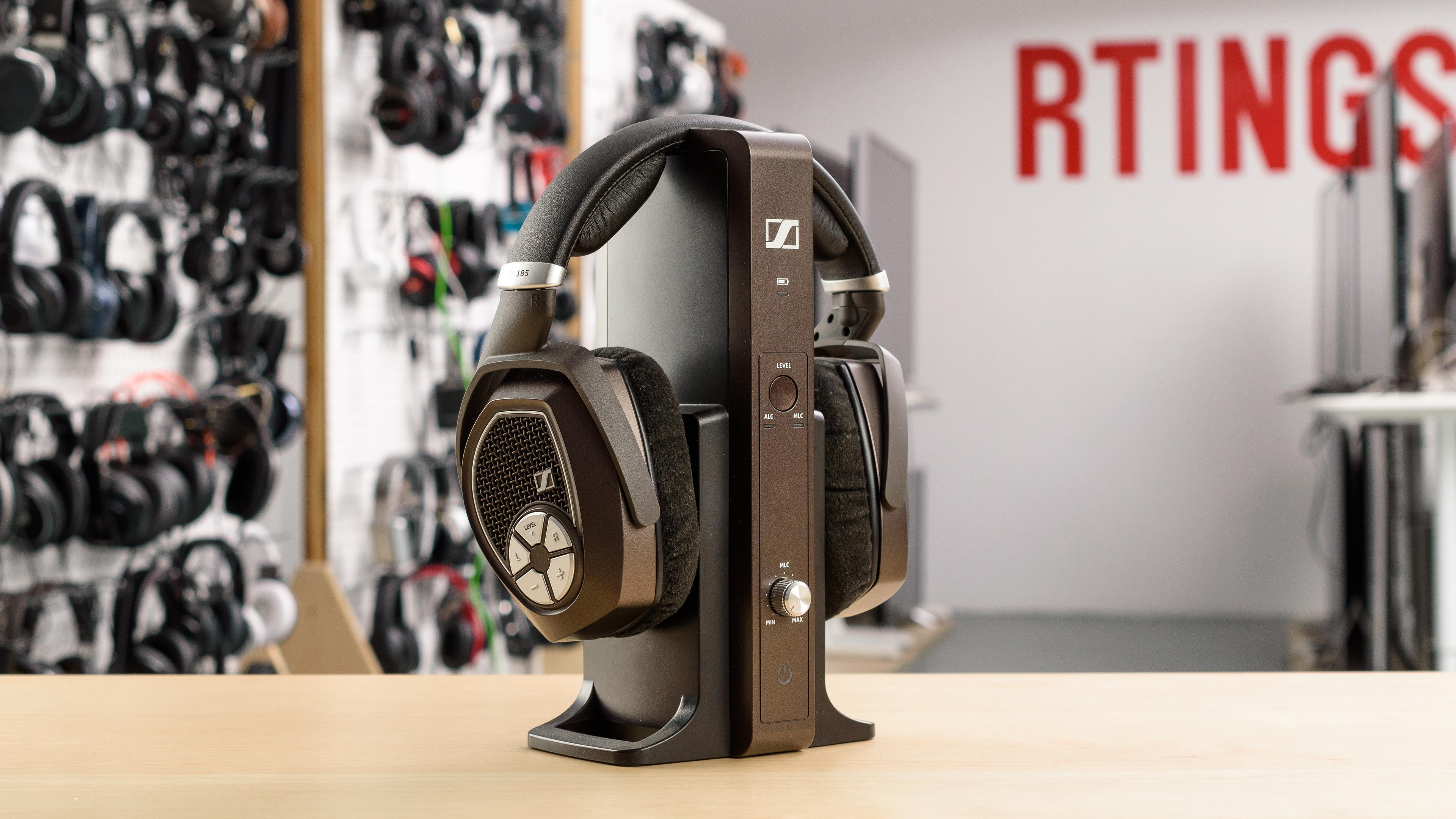 05e83bef063 Sennheiser RS 185 RF Wireless Review - RTINGS.com