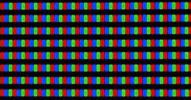 Samsung F5500 Plasma Pixels