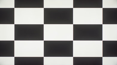 Element Fire TV Checkerboard Picture