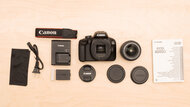 Canon EOS Rebel T100 / EOS 4000D In The Box Picture