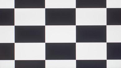 LG 24MP59G-P Checkerboard Picture