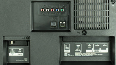 Sony W850C Rear Inputs Picture