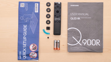 Samsung Q900/Q900R 8k QLED In The Box Picture
