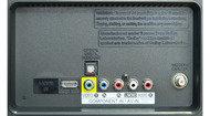 LG LN5400 Rear inputs