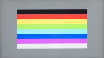 Dell UltraSharp U2721DE Color Bleed Horizontal