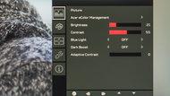 Acer Predator XB271HU OSD picture