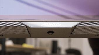 Gigabyte AORUS FO48U OLED Controls Picture