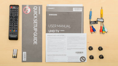 Samsung NU7100 In The Box Picture