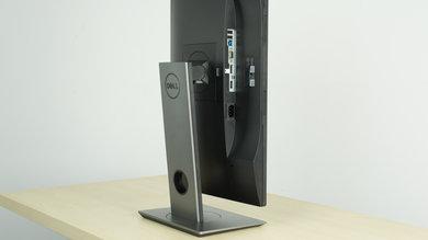 Dell P2417H Ergonomics picture