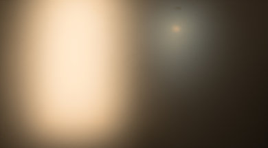 Samsung UE590 Bright room off picture