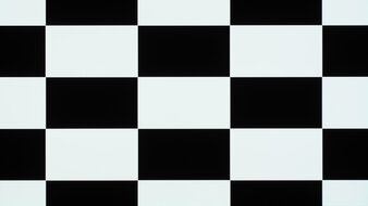 LG 48 C1 OLED Checkerboard Picture
