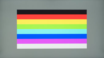 ASUS ProArt Display PA278QV Color Bleed Horizontal