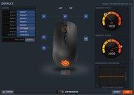 SteelSeries Rival 100 Software settings screenshot