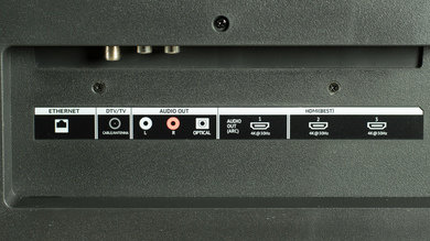 Vizio P Series 2015 Rear Inputs Picture
