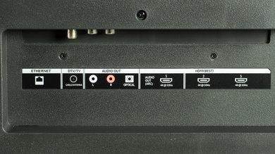 Vizio P Series Rear Inputs Picture