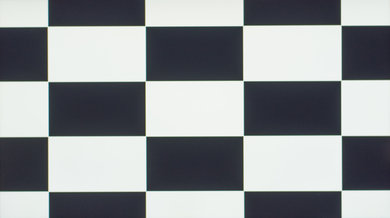 HP 27F Checkerboard Picture