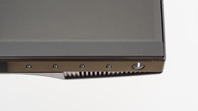Dell S2417DG Controls picture