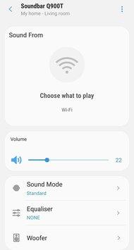 Samsung HW-Q900T App image