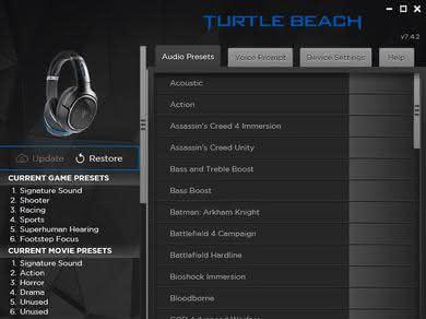 Turtle Beach Elite 800 Wireless App Picture