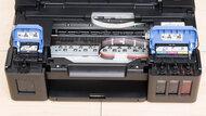 Canon PIXMA G1200 Cartridge Picture In The Printer