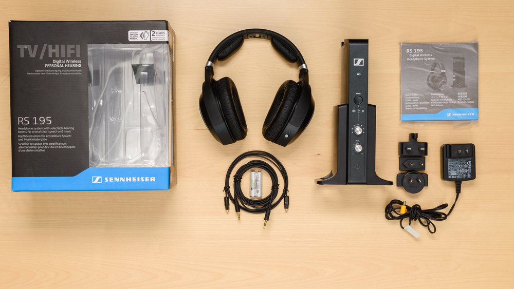 Sennheiser RS 195 RF Wireless In the box Picture