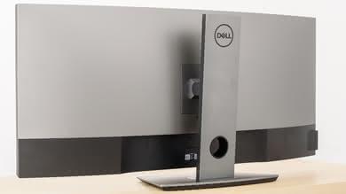 Dell U3818DW Back picture