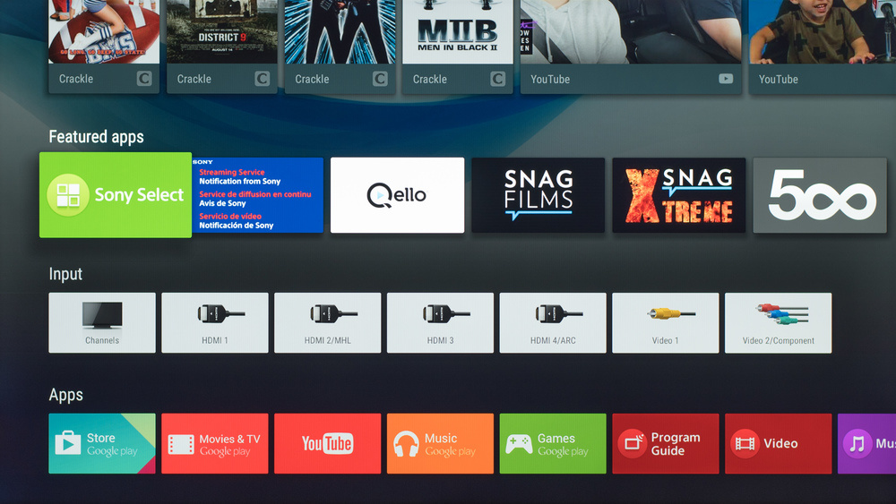 Sony X830C Smart TV Picture