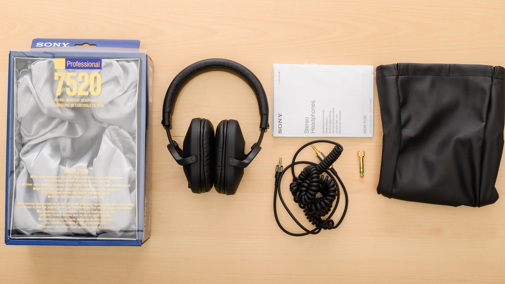 Sony MDR-7520 In the box Picture