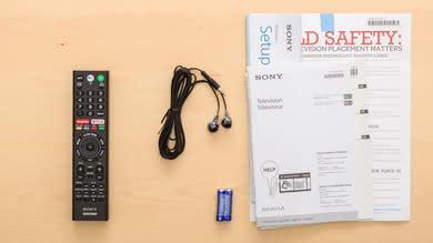 Sony X750F In The Box Picture