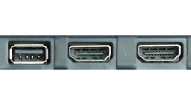 Samsung F4500 Side inputs