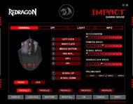 Redragon M908 Software settings screenshot