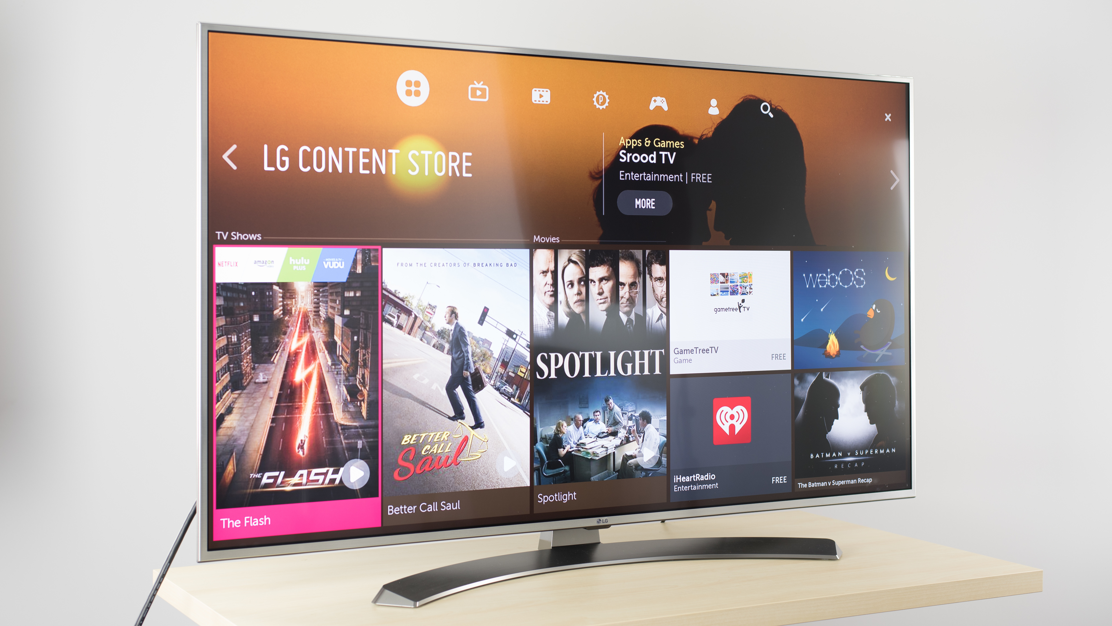 Lg Uh7700 Review 55uh7700 60uh7700 65uh7700  # Table Tv Avec Porte Cd