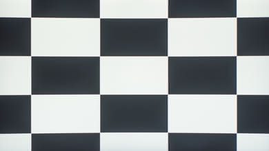 Sceptre C325W Checkerboard Picture