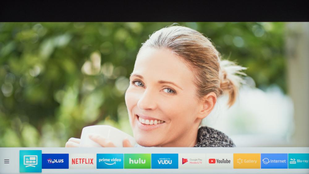 Samsung NU7100 Smart TV Picture