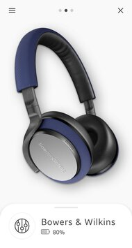 Bowers & Wilkins PX5 Wireless App Picture