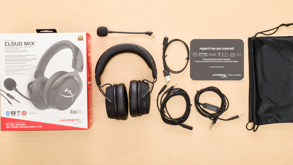 HyperX Cloud Mix Wireless In the box Picture
