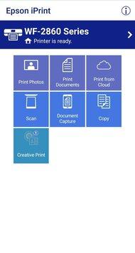 Epson WorkForce WF-2860 App Printscreen