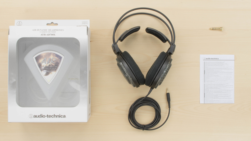 Audio-Technica ATH-AD700X In the box Picture