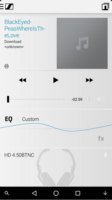 Sennheiser HD 4.50 App Picture