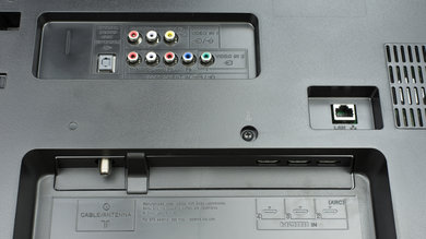 Sony W630B Rear Inputs Picture